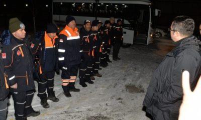 """Erzurum Valisi Memiş: """"Deprem bölgesine 995 çadır, 712 tane yatak gönderdik"""""""