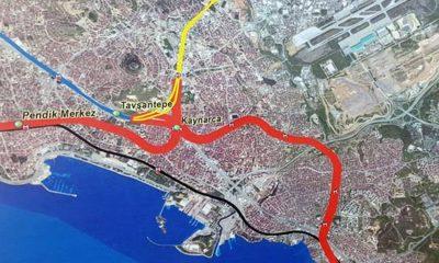 """Durdurulan """"Kaynarca-Pendik-Tuzla Metro Hattı"""" yapımının yeniden başlandı"""