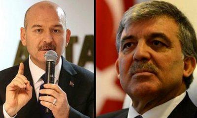 """Süleyman Soylu'dan Abdullah Gül'e: """"Sözleri içime hançer gibi saplandı. Yazıklar olsun size"""""""
