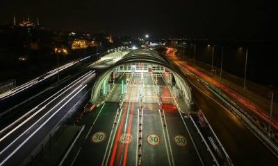 Avrasya Tüneli'ne 1 şubattan itibaren yüzde 56 zam