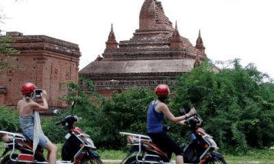 Tapınak önünde porno Myanmar'ı ayağa kaldırdı