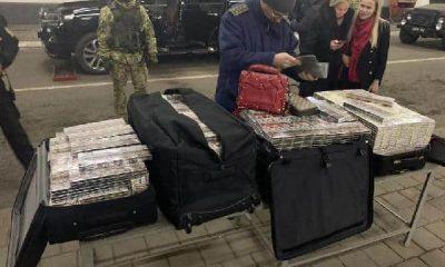 Fahri konsolos 6 bin 500 paket sigara kaçırırken yakalandı