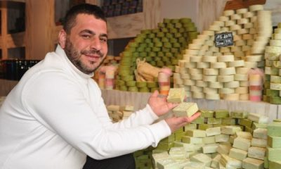 Sabun üreticisi 'koronavirüs'ü önlüyor diyerek, Çin'e sabun gönderdi