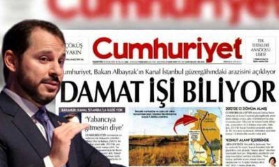 Berat Albayrak'ın Kanal İstanbul güzergahında arazi aldığı haberini yapan gazeteciye soruşturma