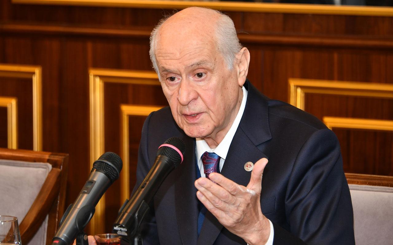 Devlet Bahçeli: Zillet partileri tembihli, görevli ve taşeron siyasetin lekeli temsilcileridir.