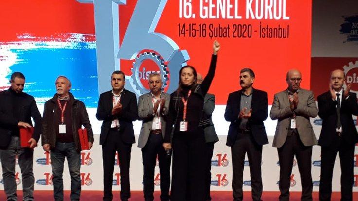 Arzu Çerkezoğlu 310 oyla yeniden DİSK Genel Başkanı oldu