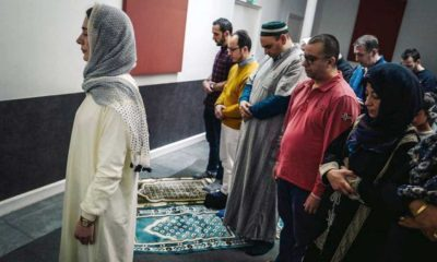 Fransa'da kadın imam cuma namazı kıldırdı