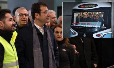 Ekrem İmamoğlu Mecidiyeköy-Mahmutbey metrosunun açılış tarihini açıkladı