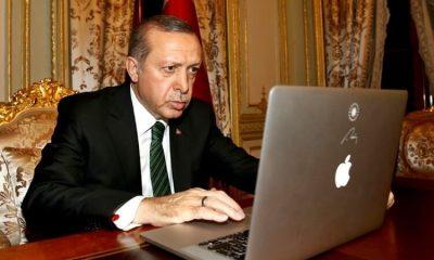 Erdoğan, Telegram'dan bugünkü mesai programını açıkladı