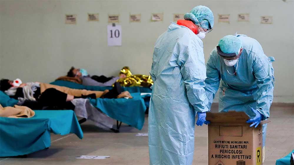 İtalya'da koronavirüsten ölenlerin sayısı 475 kişi daha artarak 2978'e yükseldi