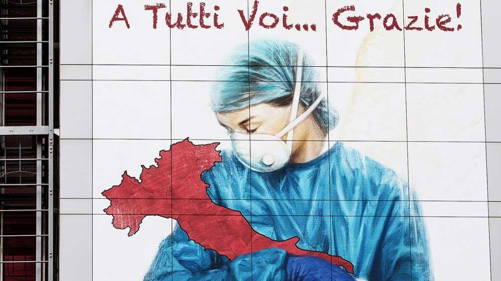 İtalya Lombardiya'daki can kaybı 2. Dünya Savaşı'ndan beş kat fazla