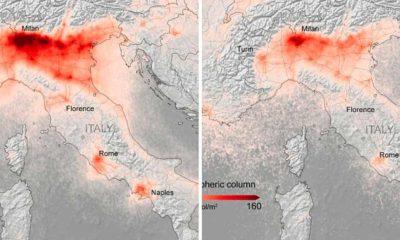 Koronavirüs nedeniyle Avrupa'da hava kirliliği seviyeleri yüzde 45 azaldı