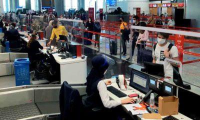 İstanbul Havalimanı'nda yurt dışı uçuşlar yeniden başladı