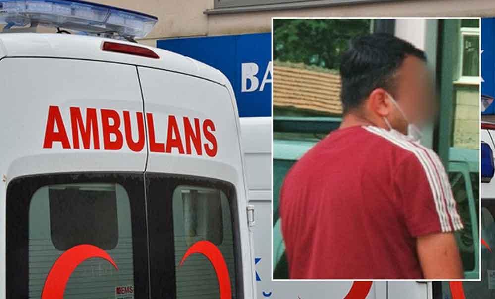 Bindirildiği ambulansta sağlık çalışanını taciz eden erkek tutuklandı
