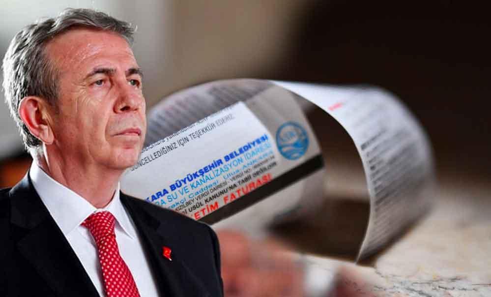 Mansur Yavaş'ın başlattığı kampanyaya büyük ilgi: Bütün su faturaları ödendi