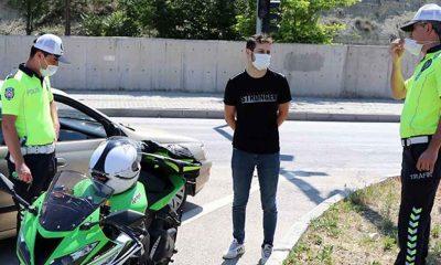 Polisin dur ihtarına uymayan sürücü: Bana el salladığını düşündüm