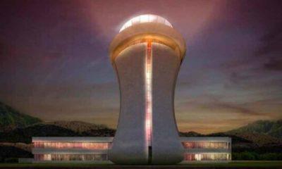 Rize-Artvin Havalimanı'na çay bardağı şeklinde kule