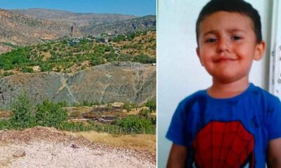 Diyarbakır'da kaybolan 4 yaşındaki Miraç Çiçek baygın halde bulunarak hastaneye kaldırıldı
