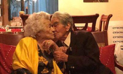 Dünyanın en yaşlı evli çifti olarak Guinness'e girdiler: Toplam yaşları 215