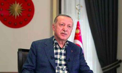 Erdoğan canlı yayında prompter kazası yaşadı: 'Geri al, geri al'
