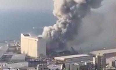 Lübnan'ın başkenti Beyrut'ta büyük patlama!
