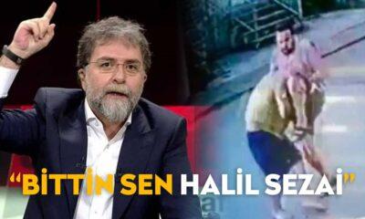 """Ahmet Hakan'dan Halil Sezai'ye """"Sen artık hepimiz için magandanın en önde gidenisin"""""""