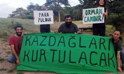 Kazdağları'nda 'Yaşam Nöbeti'ne polis baskını: Doğa savunucularına gözaltı