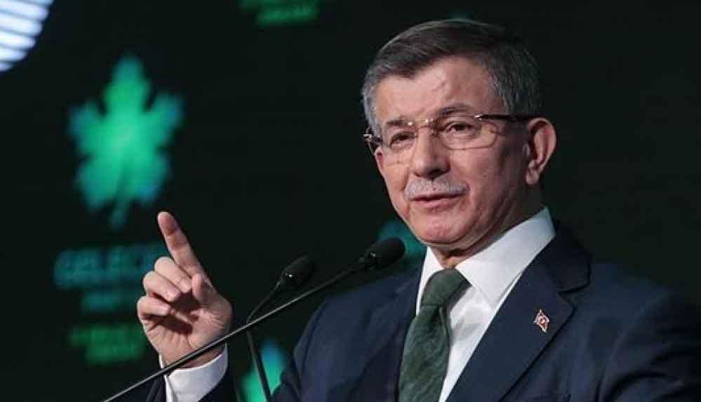 Ahmet Davutoğlu: Cumhurbaşkanı erken seçime gitmek zorunda kalacak