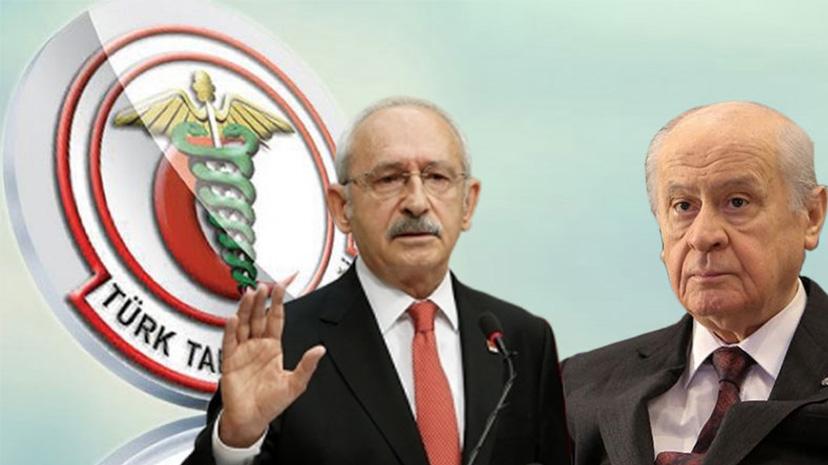 """Kılıçdaroğlu """"kapatılması istenilen"""" TTB'yi ziyaret etti"""