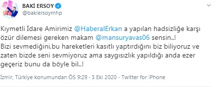 MHP'li vekil, Mansur Yavaş'ı tehdit etti