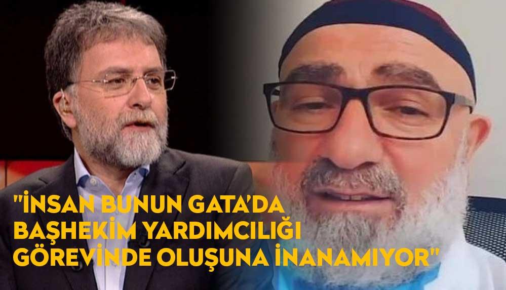Ahmet Hakan: Adam tam bir meczup, FETÖ'yü çağrıştırıyor