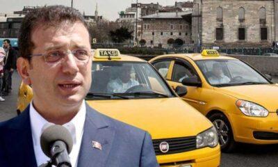 SON DAKİKA... İBB'nin taksi teklifi reddedildi! İmamoğlu'ndan ilk açıklama