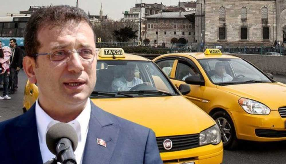 Ekrem İmamoğlu: Toplumun yüzde 95'i yeni taksiyi istiyor, eninde sonunda bu iş olacak