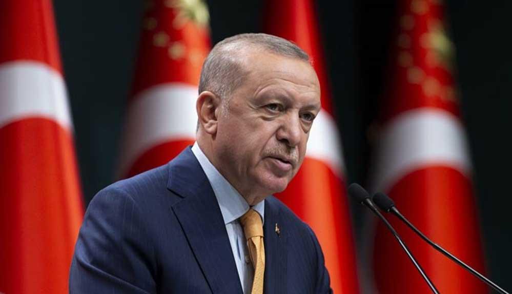 Erdoğan: Müminin görevi varlıkta şımarmamak, yoklukta sabretmektir