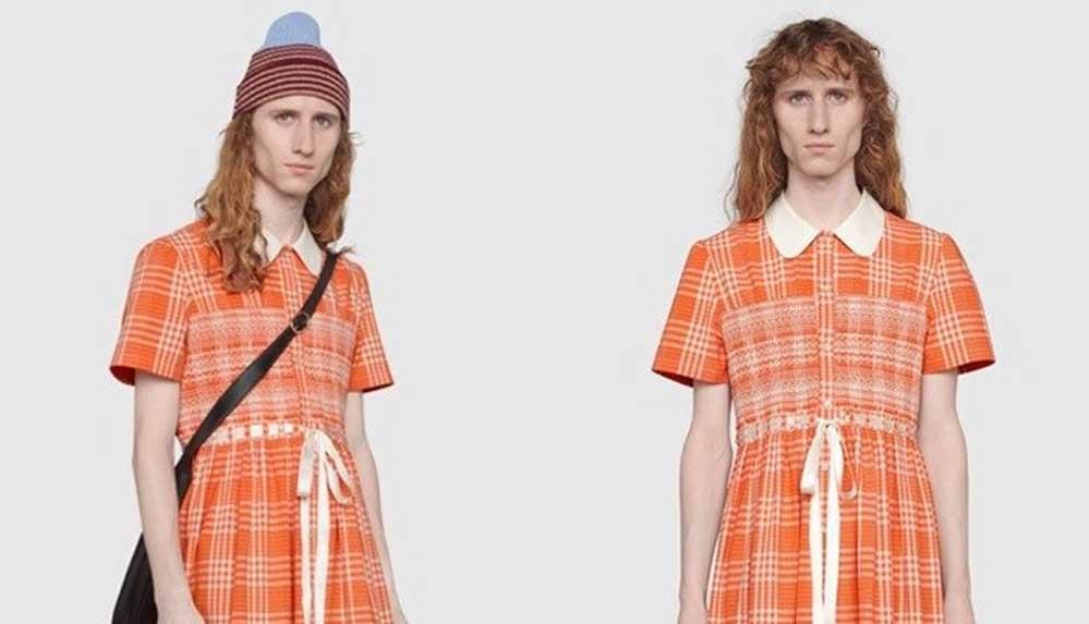 Gucci'den erkek elbisesi: 'Maskülen' kimliği biçimlendiren toksik kalıpları kırıyor
