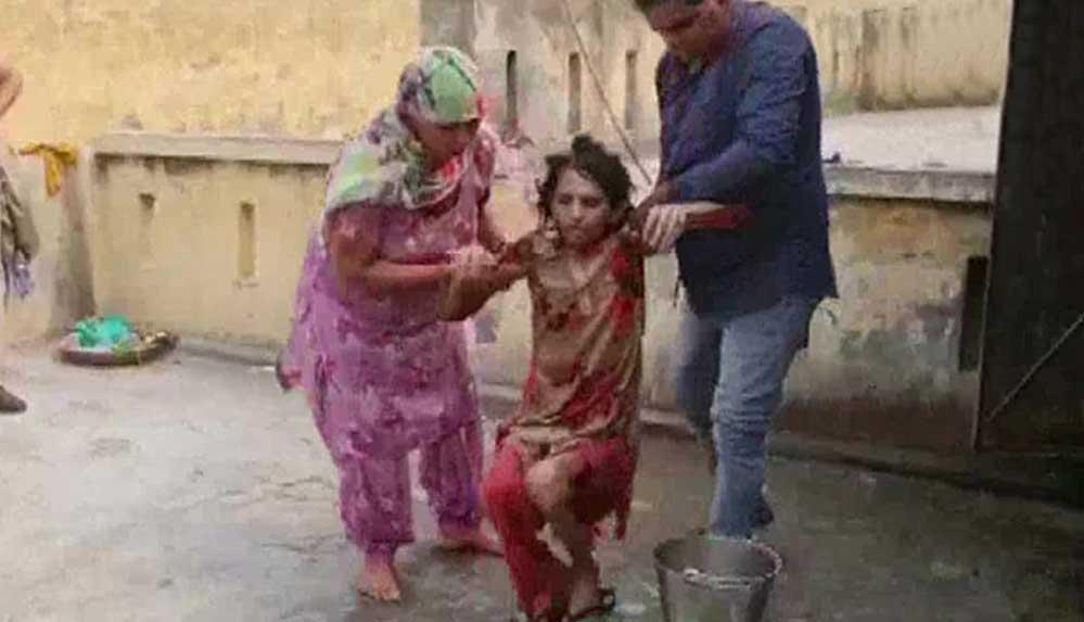 Hindistan'da kocası tarafından tuvalete hapsedilen kadın 1.5 yıl sonra kurtarıldı