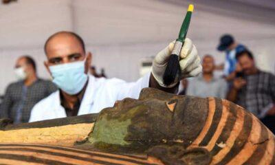Mısır'da 2 bin 500 yıllık 59 tabut bulundu