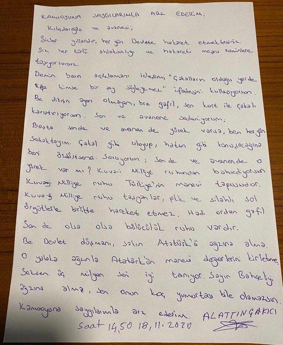 Çakıcı, Kılıçdaroğlu'nu hedef alan tehditlerini sürdürüyor