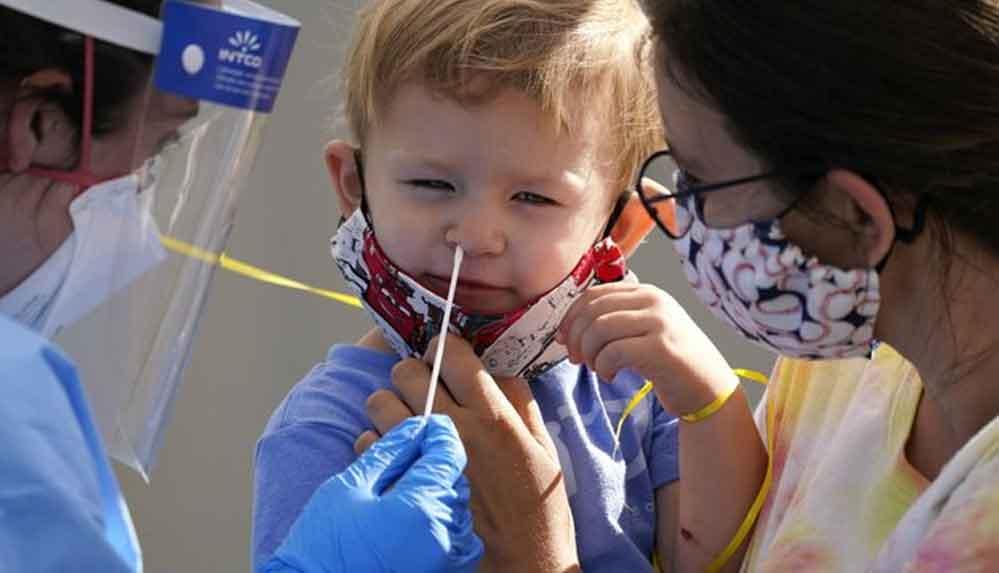 ABD'de 1 milyondan fazla çocuk Koronavirüse yakalandı