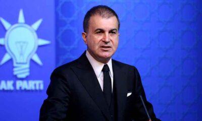 Ömer Çelik'ten hizmet pasaportu ile insan kaçakçılığına ilişkin açıklama