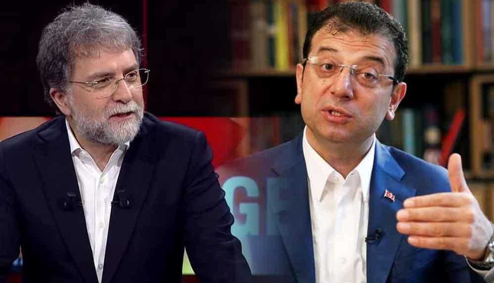 """Ahmet Hakan'dan İmamoğlu'na """"Cumhurbaşkanı olmak istiyorsan..."""""""