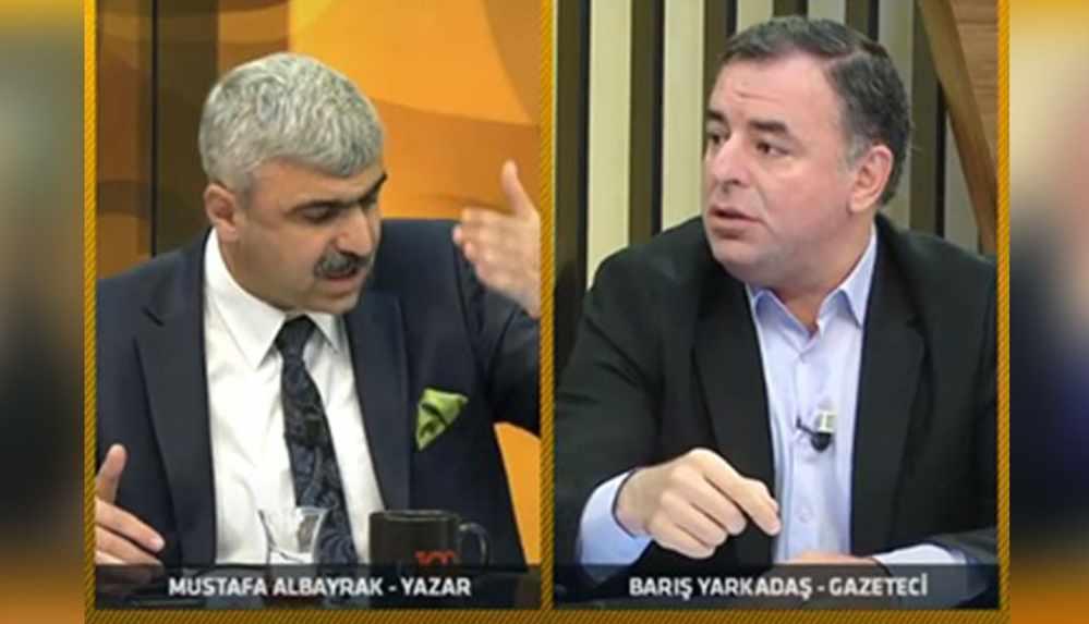 """Canlı yayında gergin anlar... """"Tayyip Erdoğan'a itaat edeceksiniz, ram olacaksınız"""""""