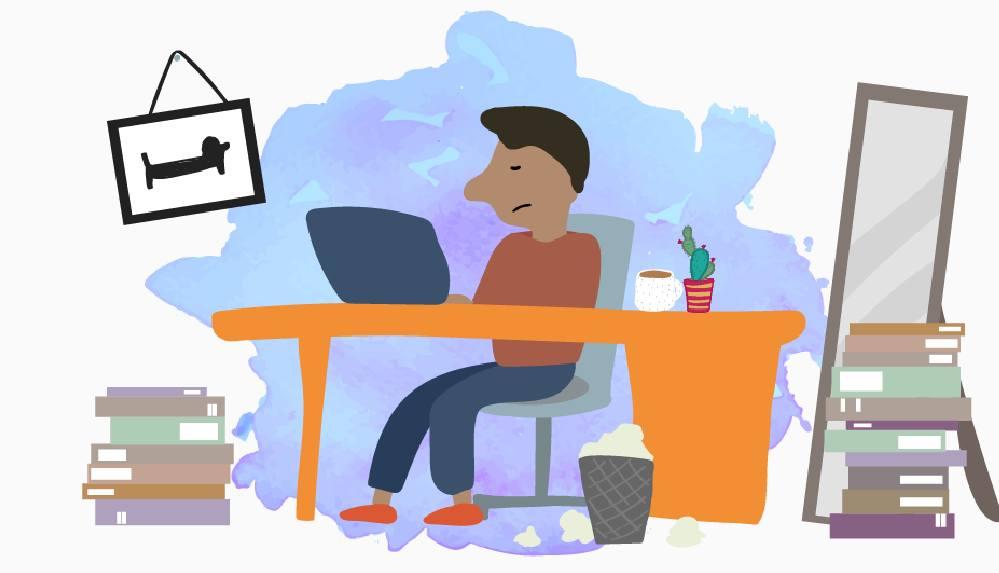 Covid-19 nedeniyle evden çalışanlara daha mutlu olmak için tavsiyeler