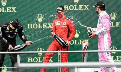 Cumhurbaşkanı Danışmanı Cesur'dan F1 podyumundaki gazoz açıklaması