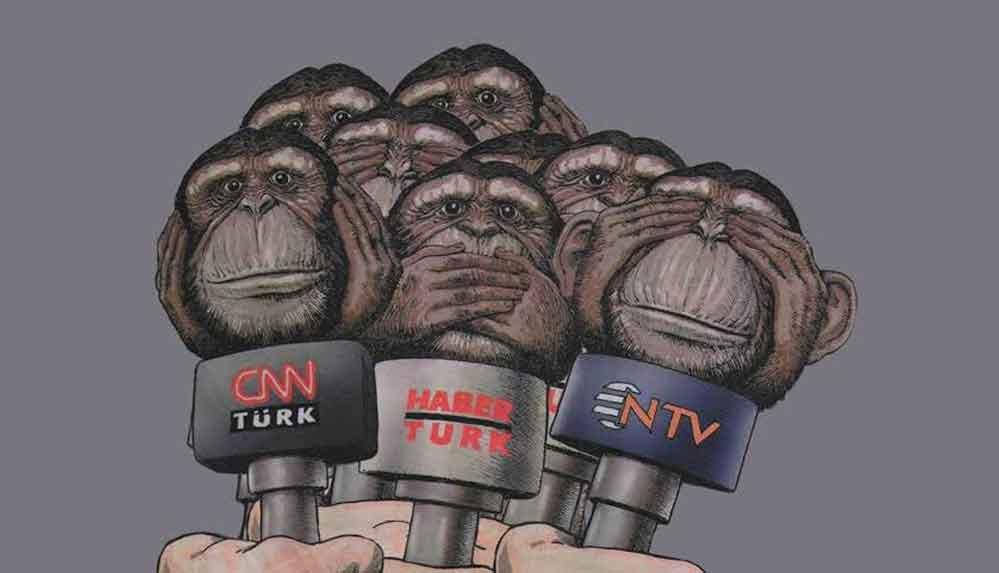 """Tarafsız habercilik yapacaksan karşımızdasın"""
