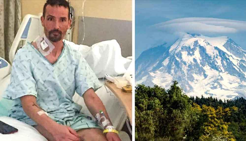 Doğa yürüyüşçüsü, 45 dakikalık 'ölüm'den sonra hayata döndürüldü