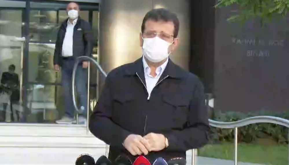 Ekrem İmamoğlu taburcu oldu: 'Karantina dönemi biter bitmez İzmir'e gideceğim'
