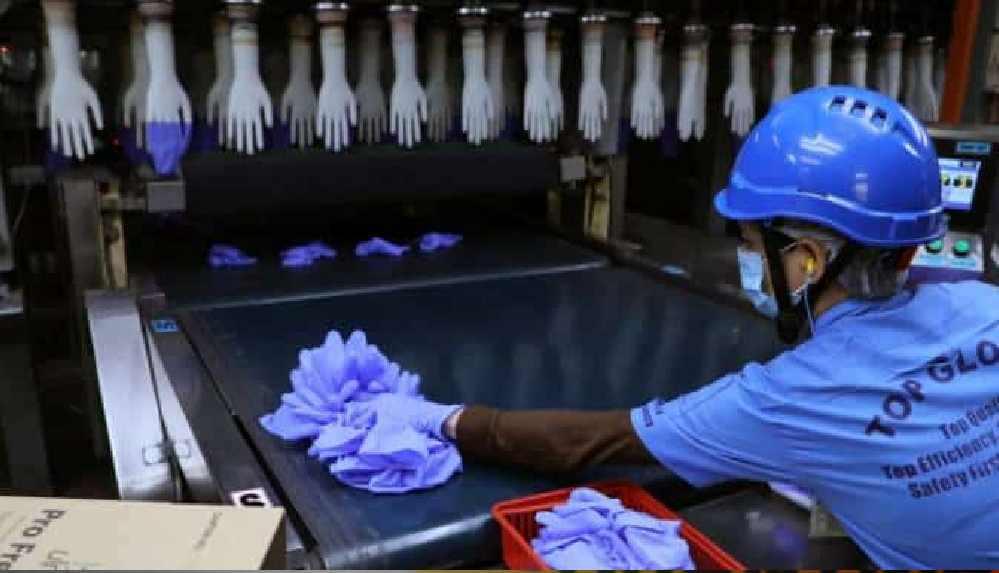 Eldiven üreticisi firmanın 2 bin 543 çalışanı pozitif çıktı: 28 fabrikası kapanıyor