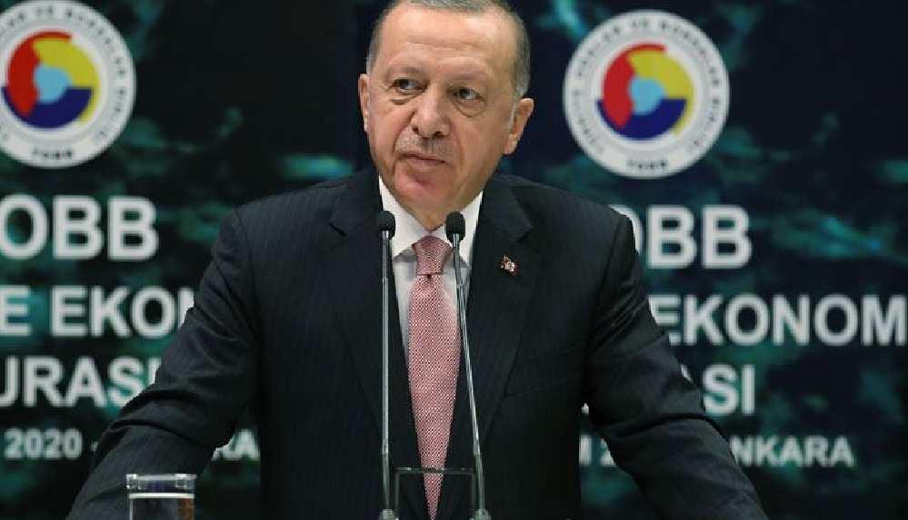 """Erdoğan: """"Artık çok daha güçlü bir şekilde üretime, yatırıma, istihdama ve ihracata odaklanmamız gerekiyor"""""""