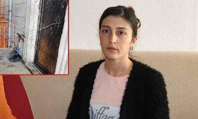Evinin kapısına bomba düzeneği kurulan kadın: Ev sahibi evden çıkmamızı istiyor
